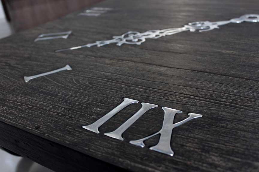 table basse horloge lello tables basses et mobilier sur galerie d mesure. Black Bedroom Furniture Sets. Home Design Ideas