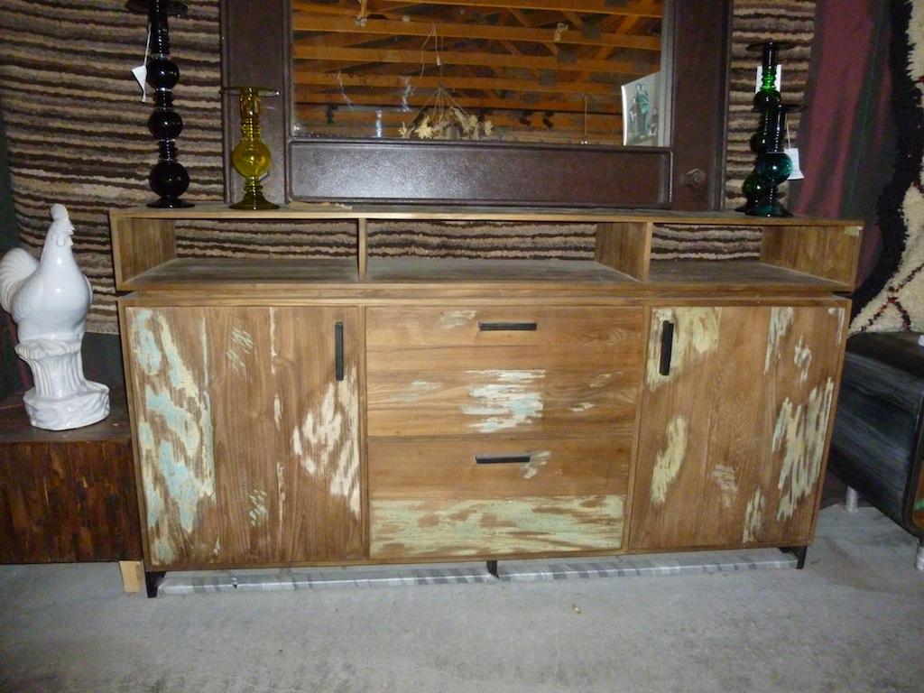 enfilade bois recycl buffets et commodes et mobilier sur galerie d mesure. Black Bedroom Furniture Sets. Home Design Ideas