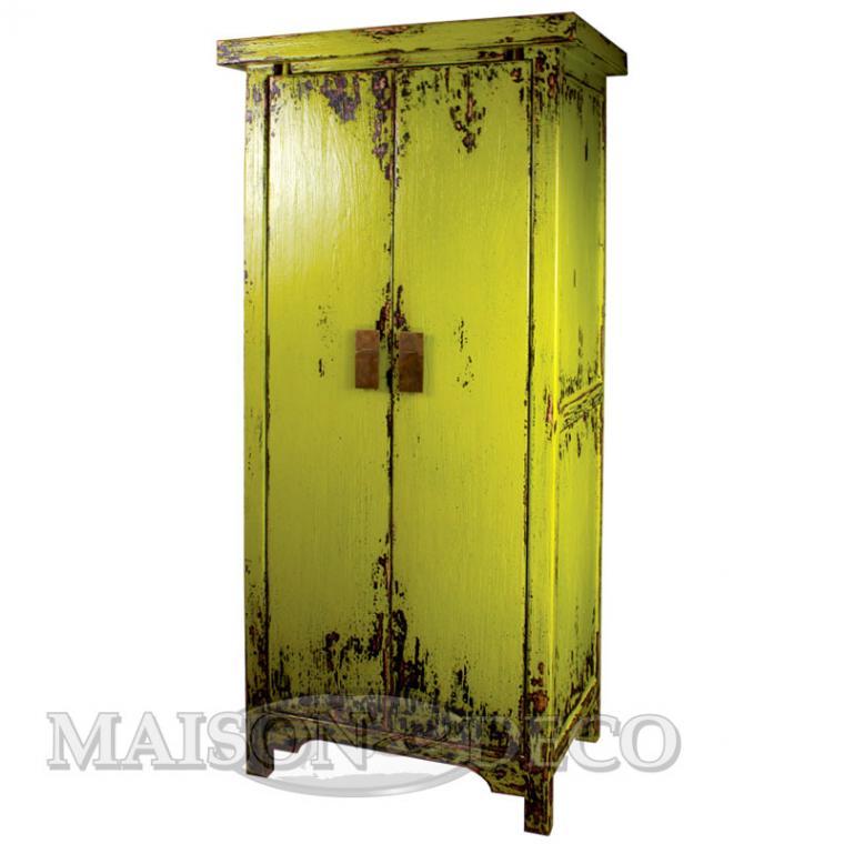 armoire rustique armoire acier bross armoire vitr e. Black Bedroom Furniture Sets. Home Design Ideas