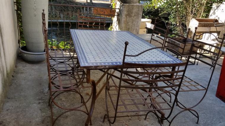 Objets d co mobilier d 39 art luminaires fontaines for Objet deco terrasse