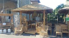 Gazebo et salon Bamboo
